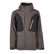Bonfire Platinum Mens Firma Stretch 3 In 1 Ski Snowboard Jacket Charcoal