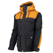 Wear Colour Mens Roam Ski Snow Jacket Black