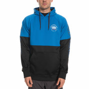 686 Link Bonded Fleece Pullover Hoody Strata Blue Colorblock