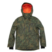 Planks Good Times Insulated Mens Ski Snow Jacket Woodsy Army Green