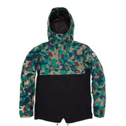 Planks Happy Days Mens Ski Snow Anorak Autumn Camo