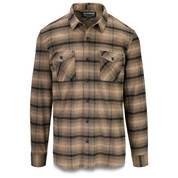 Dakine Mens Underwood Flannel Long Sleeve Shirt Barley