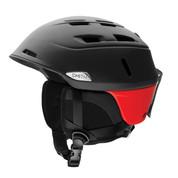 Smith Men's Camber Snow Ski Bike Helmet Matte Black Fire