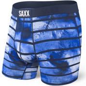 SAXX Vibe Everyday Boxer Brief Navy Tie Dye Stripe