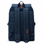 Herschel Dawson 20.5 Litre Back Pack Ruck Sack Indigo Denim Crosshatch