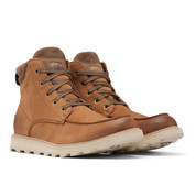 Sorel Mens Madson II MOC Toe WP Waterproof Boot Velvet Tan
