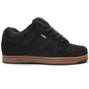 DVS Enduro 125 Trainers Shoes Black Gum Suede