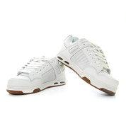 DVS Enduro Heir Trainers Shoes White Gum Nubuck