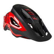 Fox Speedframe Pro MTB Mountain Bike Helmet Black Red