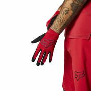 Fox Flexair Bike Protection Gloves Chilli Red