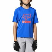 Fox Kids Youth Ranger Short Sleeve Jersey Blue