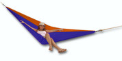 Tukeke Single Hammock 3.45 Metre Length Blue Orange