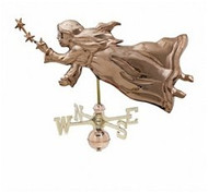 Weathervane - Polished - Angel W/ Star