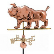 Weathervane - Polished - Bulldog