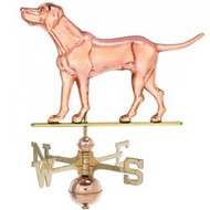 Weathervane - Polished - Labrador Retriever Dog