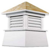 Good Directions Vinyl Kent Cupola - 84in. square x 113in. high