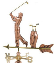 Weathervane - Polished - Golfer