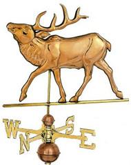 Weathervane - Polished - Elk