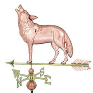 Weathervane - Polished - Wolf