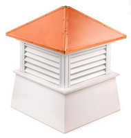 Good Directions Vinyl Manchester Cupola - 22in. square x 27in. high