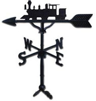 Weathervane: 32in. Train / Locomotive With Mount