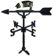 Weathervane: 32in. Pig With Mount