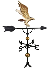 Weathervane - 52 in. Eagle With Mount (Deluxe)