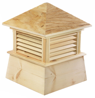 Good Directions Cypress Kent Cupola - 54in. square x 72in. high