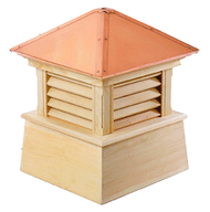Good Directions Cypress Manchester Cupola - 54in. square x 72in. high