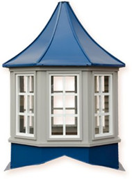 Cupola - Sundance: Azek - Winchester - Windowed - 72x72x96H