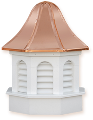 Cupola - Azek Pinnacle - Gazebo - 48Lx48Wx90H