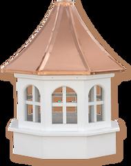 Cupola - Azek Salisbury - Gazebo - 30Lx30Wx59H