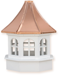 Cupola - Azek Salisbury - Gazebo - 36Lx36Wx68H