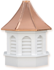 Cupola - Azek Kingston - Gazebo - 36Lx36Wx68H