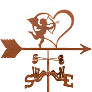 Cupid Weathervane With Mount