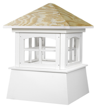 Good Directions Vinyl Brookfield Cupola - 18in. square x 25in. high