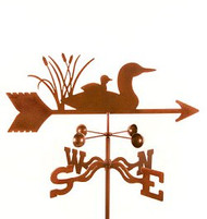 Bird-Loon Weathervane with mount