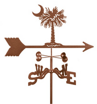 Palmetto Weathervane with mount (South Carolina)