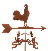 Rooster Weathervane with mount by EZ Vane