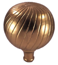Finial - Large Parisian- Brass Plated