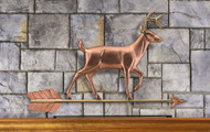 White Tail Buck Mantel Weathervane