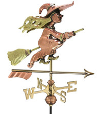 Witch with Arrow Cottage Weathervane