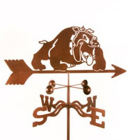 Dog-Bulldog  Weathervane with mount