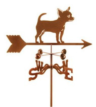 Dog-Chihuahua Weathervane with mount