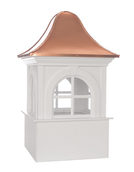 GooGood Directions Smithsonian Washington Vinyl Cupola 26in. square x 42in. High