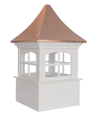 Good Directions Westport Vinyl Cupola 60in. square x 98in. high