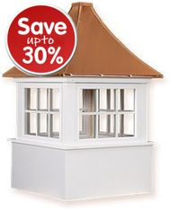 ALL CUPOLAS ON SALE!