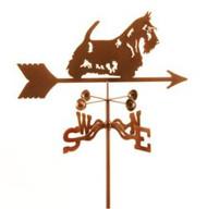 Dog-Scottish Terrier Weathervane with mount