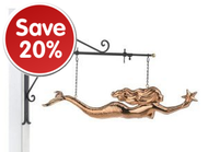 ALL COPPER HANGING FIGURES ON SALE!