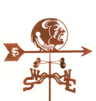 Florida State University Seminoles Weathervane with mount